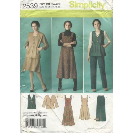 Dress Vest Jacket Pants 2539