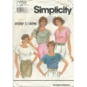 Pullover Top Simplicity 7768