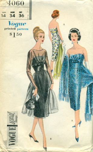 Vintage Vogue Sewing Pattern Picture